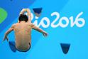 Sho Sakai (JPN), <br /> AUGUST 15, 2016 - Diving : <br /> Men's 3m Springboard Preliminary Round <br /> at Maria Lenk Aquatic Centre <br /> during the Rio 2016 Olympic Games in Rio de Janeiro, Brazil. <br /> (Photo by Yohei Osada/AFLO SPORT)