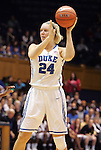 20 December 2011: Duke's Kathleen Scheer. The Duke University Blue Devils defeated the University of North Carolina Wilmington Seahawks 107-45 at Cameron Indoor Stadium in Durham, North Carolina in an NCAA Division I Women's basketball game.