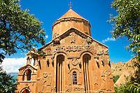 10th century Armenian Orthodox Cathedral of the Holy Cross on Akdamar Island, Lake Van Turkey 58