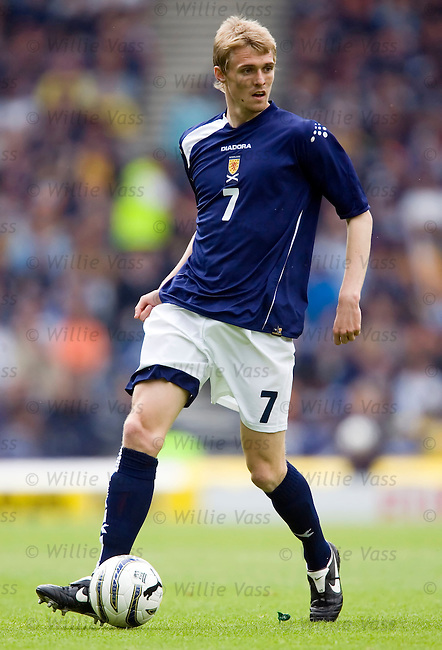 Darren Fletcher, Scotland.stock season 2005-2006.pic willie vass