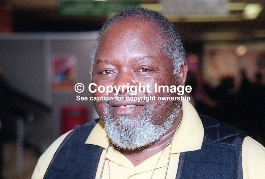 Bernie Grant, MP, Labour Party, UK, October, 1997, 199710026<br />