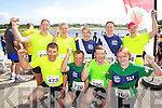 Front row from left Eamon Egan, David Toomey, Tim Deenihan and Mary Toomey. Back row Theresa Grimes, Mary Deenihan Walshe, Sarah Breen, Marie Deanihan Carty and Joan Keane pictured at the Rose of Tralee International 10k Race in Tralee on Sunday.