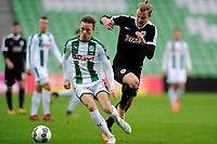 GRONINGEN - Voetbal, FC Groningen - Preussen Munster  oefenwedstrijd , Noordlease stadion, seizoen 2017-2018, 08-11-2017,   FC Groningen speler Todd Kane