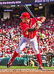 28 September 2014: Washington Nationals second baseman Asdrubal Cabrera at bat in the second inning against the Miami Marlins at Nationals Park in Washington, DC. The Nationals shut out the Marlins 1-0, caping the season with the first Nationals no-hitter in modern times. The win also notched a 96 win season for the Nats: the best record in the National League. Mandatory Credit: Ed Wolfstein Photo *** RAW (NEF) Image File Available ***