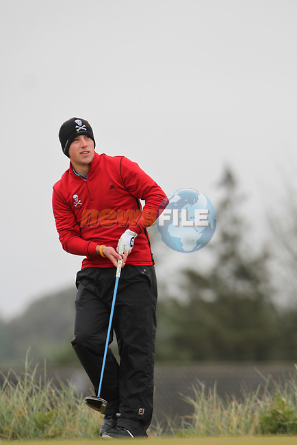 Declan King (Tramore) on the 11th Tee, Day 2 at the East of Ireland Amateur Open Championship 2011 in Co.Louth Golf Club....(Photo credit should read Jenny Matthews www.newsfile.ie)....This Picture has been sent you under the conditions enclosed by:.Newsfile Ltd..The Studio,.Millmount Abbey,.Drogheda,.Co Meath..Ireland..Tel: +353(0)41-9871240.Fax: +353(0)41-9871260.GSM: +353(0)86-2500958.email: pictures@newsfile.ie.www.newsfile.ie.