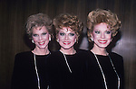 The McGuire Sisters  in 1986 in New York City. © Walter McBride/WM Photography