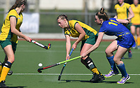Action from the Federation Cup and Marie Fry Trophy match between Whangarei Girls High School and Waimea College at Park Island in Napier, New Zealand on Tuesday, 5 September 2016. Photo: Kerry Marshall / lintottphoto.co.nz