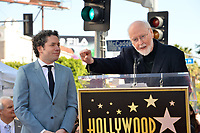 LOS ANGELES, CA. January 22, 2019: Gustavo Dudamel & John Williams at ceremony where conductor Gustavo Dudamel received a star on the Hollywood Walk of Fame.<br /> Picture: Paul Smith/Featureflash