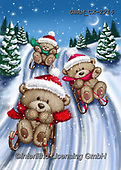 Roger, CHRISTMAS ANIMALS, WEIHNACHTEN TIERE, NAVIDAD ANIMALES, paintings+++++,GBRMCX-2215,#xa#