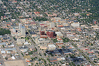 aerial of Colorado Springs, CO