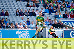 Patrick Warren Kerry in action against  Derry in the All-Ireland Minor Footballl Final in Croke Park on Sunday.