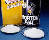 ORGANIC &amp; INORGANIC SUBSTANCES<br /> Sugar And Salt<br /> Cane sugar (C12H22O11) is an organic substance. Common salt (NaCl) is an inorganic substance.