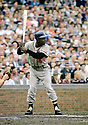 CIRCA 1960's: Hank Aaron #44 of the Atlanta Braves bats during a game from his career. Aaron played 23 seasons, with 2 different teams, was a 25-time All-Star and inducted to the Baseball Hall of Fame in 1982.  (Photo by: 1960 SportPics)  *** Local Caption *** Hank Aaron