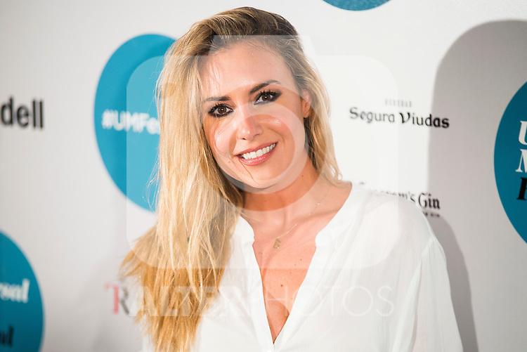 Berta Collado during the concert of Enrique Bunbury at the Teatro Real in Madrid. July 26. 2016. (ALTERPHOTOS/Borja B.Hojas)