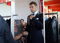 FUSSBALL  1. BUNDESLIGA   SAISON 2012/2013  17.08.2012 S.Oliver Einkleidung beim FC Bayern Muenchen  Torwart Manuel Neuer