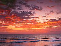 Sunrise over the Atlantic Ocean,<br /> West Palm Beach, Florida