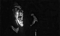 Meatloaf performs live in Horan's Tralee in 1984.Picture by Don MacMonagle
