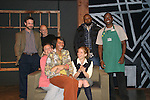 "Photo Shoot on August, 31, 2010 - Emmy-Award Winner Kim Zimmer and cast - Trish McCall ""Segel"", (on Kim's lap), Alexandra Rivera  plays Kim's  daughter ""Alex"") and back row left to right - David Farrington ""Michael"", John Pietrowski (director), Jamil Mangan ""Panther"" and Warner Miller ""Gabriel"" star in Lost Boy Found in Whole Foods, a new play being produced by Premiere Stages at Kean University and Playwrights Theatre of New Jersey. The production runs from September 2 through 19 in the Zella Fry Theatre on the Kean University campus, located at 1000 Morris Avenue, Union, N.J. Legendary Daytime star, known to millions as Reva Shayne on Guiding Light, takes to the stage before her return to daytime this fall on ABC's One Life to Live and the release of a tell-all book. (Photo by Sue Coflin/Max Photos)"