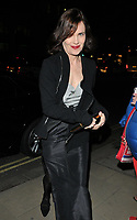 Elizabeth McGovern at the Services To Film inaugural gala dinner in aid of Walking With The Wounded charity, BAFTA, Piccadilly, London, England, UK, on Tuesday 06 February 2018.<br /> CAP/CAN<br /> &copy;CAN/Capital Pictures