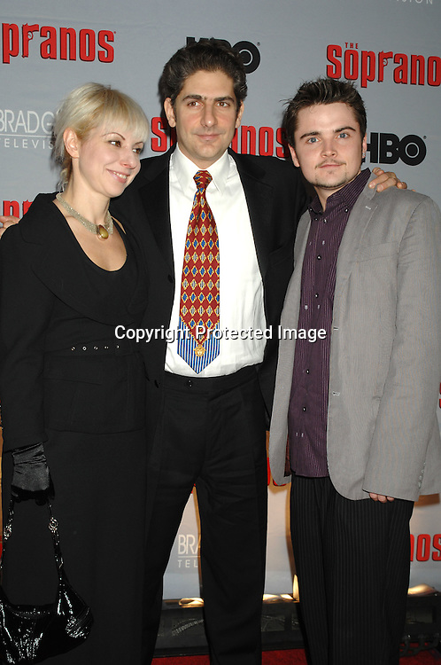 Victoria and Michael Imperioli and Robert Iler..arriving at The Sopranos World Premiere of two new episodes of the HBO original series on March 27, 2007 at..Radio City Music Hall in New York...Robin Platzer, Twin Images