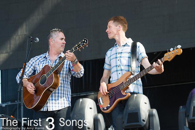 Ed Robertson and Jim Creeggan of Barenaked Ladies performs at the 2nd Annual BottleRock Napa Festival at Napa Valley Expo in Napa, California.