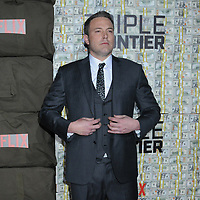 "03 March 2019 - New York, New York - Ben Affleck. The World Premiere of ""Triple Frontier"" at Jazz at Lincoln Center. Photo Credit: LJ Fotos/AdMedia"