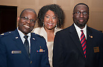 Chaplain Paschal Odemokpa, Angela Holder, and Chaplain Michael McCoy.