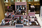 Juicy Couture watches display shop window