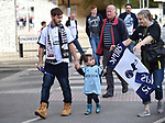Tottenham Hotspur fans making there way to the stadium before the start of the premier league match at the Wembley Stadium, London. Picture date 16th September 2017. Picture credit should read: Robin Parker/Sportimage
