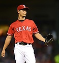 Yu Darvish (Rangers),<br /> JUNE 13, 2013 - MLB :<br /> Pitcher Yu Darvish of the Texas Rangers during the Major League Baseball game against the Toronto Blue Jays at Rangers Ballpark in Arlington in Arlington, Texas, United States. (Photo by AFLO)