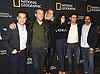 T R Knight, Antonio Banderas, Poppy Delevingne,  Samantha Colley,Alex Rich and Ken Biller attend the National Geographic's &quot;Genius: Picasso&quot; at the unveiling of Genius: Studio Art Lab in New York City, New York, USA on April 19, 2018. <br /> <br /> photo by Robin Platzer/Twin Images<br />  <br /> phone number 212-935-0770