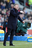 Doncaster Rovers manager Grant McCann during Doncaster Rovers vs Crystal Palace, Emirates FA Cup Football at the Keepmoat Stadium on 17th February 2019