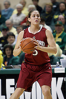CORVALIS, OR - JANUARY 22:  Michelle Harrison of the Stanford Cardinal during Stanford's 85-57 win over the Oregon Ducks on January 22, 2009 in Eugene, Oregon.
