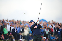 Jimmy Walker (USA) during the Saturday morning Fourballs of the 2014 Ryder Cup at Gleneagles. The 40th Ryder Cup is being played over the PGA Centenary Course at The Gleneagles Hotel, Perthshire from 26th to 28th September 2014.: Picture Kenneth E.Dennis, www.golffile.ie: \27/09/2014\