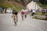 Anthony Turgis (FRA/Direct Energie)<br /> <br /> Stage 7: Nice to Col de Turini (181km)<br /> 77th Paris - Nice 2019 (2.UWT)<br /> <br /> ©kramon