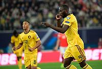 Goal of Romelu Lukaku forward of Belgium  <br /> Saint Petersbourg  - Qualification Euro 2020 - 16/11/2019 <br /> Russia - Belgium <br /> Foto Photonews/Panoramic/Insidefoto <br /> ITALY ONLY