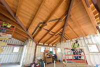 Meigs Point Nature Center at Hammonasset Beach State Park  <br /> Connecticut State Project No: BI-T-601<br /> Architect: Northeast Collaborative Architects  Contractor: Secondino & Son<br /> James R Anderson Photography New Haven CT photog.com<br /> Date of Photograph: 20 November 2015<br /> Camera View: 20