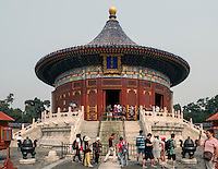 Himmelsgewölbe im Himmelstempel Park, Peking, China, Asien, UNESCO-Weltkulturerbe<br /> Heavenly vault, park of temple of Heaven, Beijing, China, Asia, world heritage