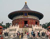 Himmelsgew&ouml;lbe im Himmelstempel Park, Peking, China, Asien, UNESCO-Weltkulturerbe<br /> Heavenly vault, park of temple of Heaven, Beijing, China, Asia, world heritage