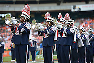 September 1, 2012  (Washington, DC) The Howard University marching band performs at the 2012 AT&T Football Classic between Howard and Morehouse. Howard won 29-30 in the last 22 seconds of the game.   (Photo by Don Baxter/Media Images International)