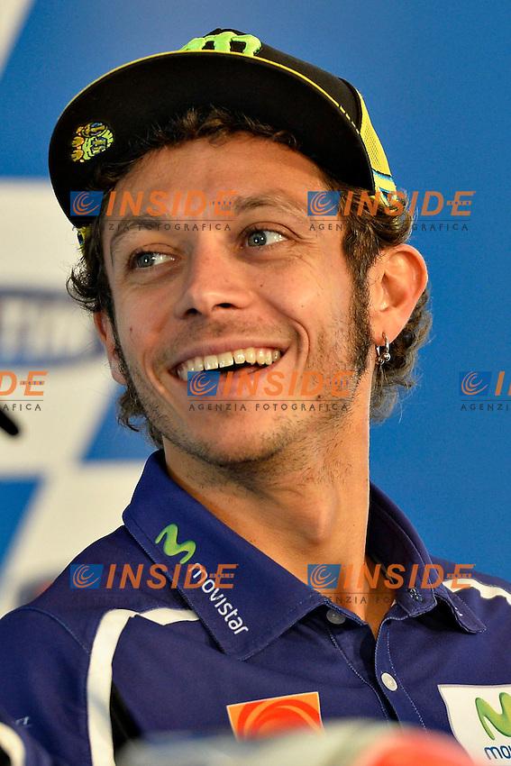 Valentino Rossi<br /> Misano Adriatico (San Marino) 14/09/2014 - qualifiche Moto GP  foto Luca Gambuti/Image Sport/Insidefoto