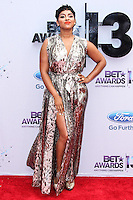 LOS ANGELES, CA - JUNE 30: RaVaughn Brown attends the 2013 BET Awards at Nokia Theatre L.A. Live on June 30, 2013 in Los Angeles, California. (Photo by Celebrity Monitor)