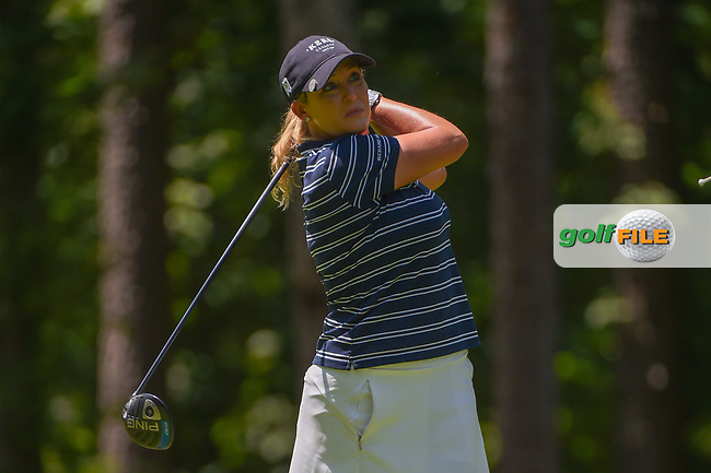 Cristie Kerr (USA) watches her tee shot on 2 during round 1 of the U.S. Women's Open Championship, Shoal Creek Country Club, at Birmingham, Alabama, USA. 5/31/2018.<br /> Picture: Golffile | Ken Murray<br /> <br /> All photo usage must carry mandatory copyright credit (© Golffile | Ken Murray)