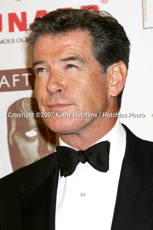 Pierce Brosnan.BAFTA/LA Cunard Britannia Awards 2007.British Academy of Film & Television Arts / LA.Hyatt Regency Century Plaza Hotel.Los Angeles, CA.November 1, 2007.©2007 Kathy Hutchins / Hutchins Photo...               .