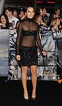 LOS ANGELES, CA - NOVEMBER 12: Teresa Palmer arrives at 'The Twilight Saga: Breaking Dawn - Part 2' Los Angeles premiere at Nokia Theatre L.A. Live on November 12, 2012 in Los Angeles, California.
