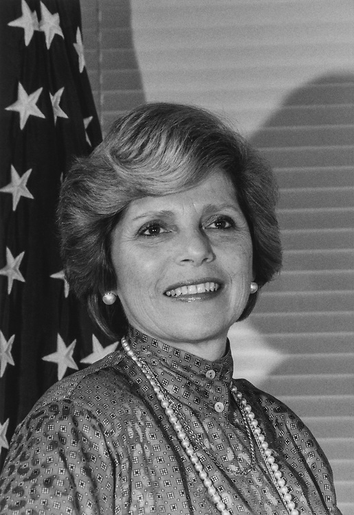 Rep. Marge Roukema, R-N.J., in 1986. (Photo by CQ Roll Call via Getty Images)