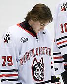 Cody Ferriero (Northeastern - 79) - The Northeastern University Huskies defeated the visiting Providence College Friars 5-0 on Saturday, November 20, 2010, at Matthews Arena in Boston, Massachusetts.