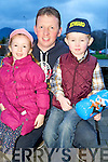Enjoying the Jedward Concert in the INEC, Killarney on Saturday night were Tim, Sarah and Killian Fitzgerald, Fossa.