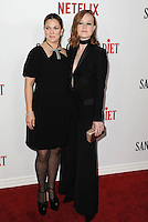 www.acepixs.com<br /> <br /> February 1 2017, LA<br /> <br /> Drew Barrymore and Liv Hewson arriving at the premiere Of Netflix's 'Santa Clarita Diet' at the ArcLight Cinemas Cinerama Dome on February 1, 2017 in Hollywood, California<br /> <br /> By Line: Peter West/ACE Pictures<br /> <br /> <br /> ACE Pictures Inc<br /> Tel: 6467670430<br /> Email: info@acepixs.com<br /> www.acepixs.com