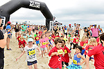 MIAMI BEACH, FLORIDA - APRIL 03: Geoff Stults at the start line with the St. Jude Children run as Part of Life Time South Beach Triathlon benefiting the St. Jude Children Hospital at Lummus Park on Sunday April 3, 2016 in Miami Beach, Florida. ( Photo by Johnny Louis / jlnphotography.com )